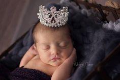 Newborn Rhinestone Crown Rhinestone Crown by alliballiboutique