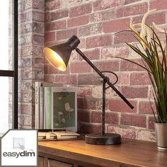Interior Dorado, Desk Lamp, Table Lamp, Turn The Lights Off, Color Dorado, 5 W, Lampe Led, Rust Color, Lights