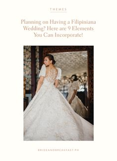 gown philippines Planning on Having a Filipiniana Wedding? Here are 9 Elements You Can Incorporate! Rustic Wedding Gowns, Elegant Wedding Dress, Dream Wedding Dresses, Wedding Looks, Bridal Looks, Filipiniana Wedding Theme, Filipino Wedding, Wedding Gown Preservation, Modern Minimalist Wedding