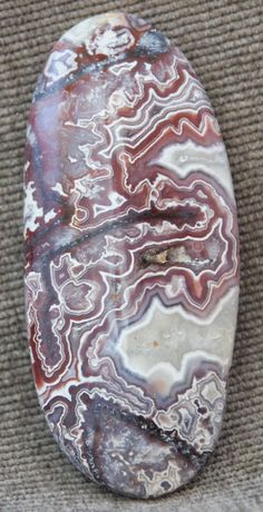 Mexican Crazy Lace Agate Free Form Cabochon 12 grams 55.51 X 24.41 X 6.65MM #Handmade
