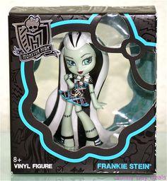 Frankie Stein Doll Monster High Vinyl Collectible Mattel Figure Frankenstein New #Mattel #Dolls