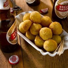 Belgian food: Chicory, Cheese and Ham Croquettes
