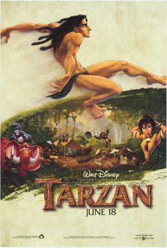 Tarzan Poster.
