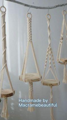 Macrame Art, Macrame Design, Macrame Projects, Macrame Knots, Diy Projects, Macrame Plant Hanger Patterns, Macrame Plant Hangers, Macrame Patterns, Diy Crafts For Home Decor