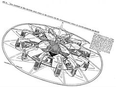 Working flying saucer design created with the help of Tesla.