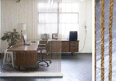 10 Ideas para separa ambientes | Cuerda
