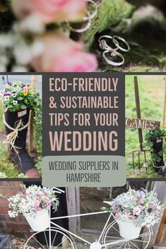 How to plan for an eco-friendly and sustainable wedding in Hampshire. Here are some ideas as well as links to other environmentally aware wedding suppliers. Wedding Planning Tips, Wedding Tips, Diy Wedding, Wedding Favors, Hampshire Uk, Sustainable Wedding, Wedding Games, Indoor Wedding, Photography Website