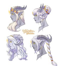 Some lightforged looks by Faebelina, Character Design Hair, Fantasy Character Design, Character Creation, Character Design Inspiration, Character Concept, Character Art, Concept Art, Story Inspiration, Anime Art Fantasy, Dnd Characters