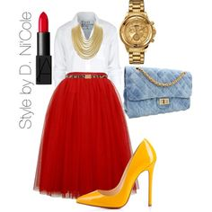 A fashion look from October 2014 featuring Frank & Eileen tops, Christian Louboutin pumps and Versus watches. Browse and shop related looks.