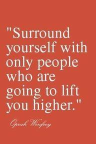 Positive people, brings positive energy