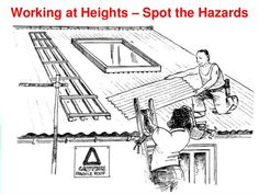 Working at Heights – Spot the Hazards