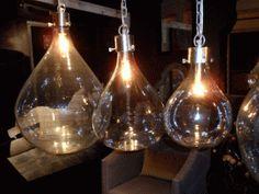 vintage glass pendant lights