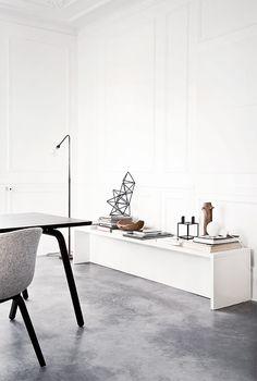 Norm Architects - concrete floor