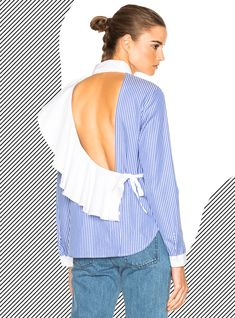 10 Ways To Take On The Deconstructed Shirt Trend+#refinery29uk