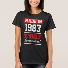 #Perfect Gift For 35th Birthday. T-Shirt Ideas. - #birthday #gifts #giftideas #present #party