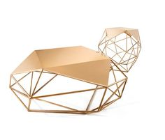 Archimedes Bronze Limited Edition Coffee Table von Matthew Shively