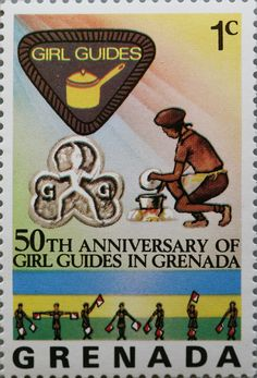 Grenada Is Twinned With Canada For WTD2013 Daisy Girl Guides
