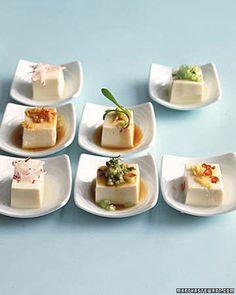 Chilled Tofu  #fingerfood #loucasfingerfood