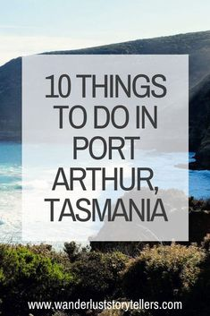 Wondering what to do in Port Arthur Tasmania? Here is our guide on the top things to do in Port Arthur, Australia. Mona Tasmania, Port Arthur Tasmania, Stanley Tasmania, Tasmania Road Trip, Tasmania Travel, Visit Australia, Australia Travel, Looney Tunes, Cradle Mountain Tasmania