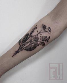 Had the pleasure of tattooing this bundle of herbs on chef Danielle thanks girl! #eyeKANDI #eyekandiink #tattoo #art #artist #ctartist #realistic #customtattoo #3d #bngink_society #inkedup #tattoocommunity #inkedgirls #tattooedgirls #blackandgrey #hyperrealism #inkart #bodymod #linework #tattoos #btattooing #blxck #blxckink #realistictattoo #realism #herbs #chef #flowers #blackworker #equilattera #blxckink
