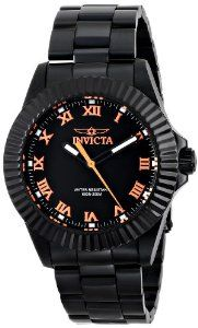 Invicta Men's 16713 PRO DIVER/BLACK WIDOW Analog Display Quartz Black Watch