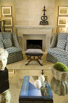 Robin Rains Interior Design Wonderful Seating Area