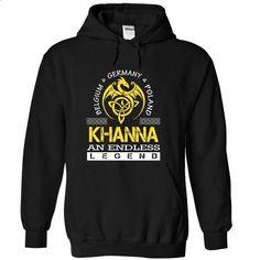 KHANNA - #floral tee #tshirt text. GET YOURS => https://www.sunfrog.com/Names/KHANNA-vrhmqeascn-Black-52524887-Hoodie.html?68278