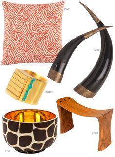 tribal home accessories & fashion