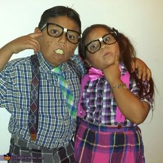 Tinesa: My son and daughter being nerds.