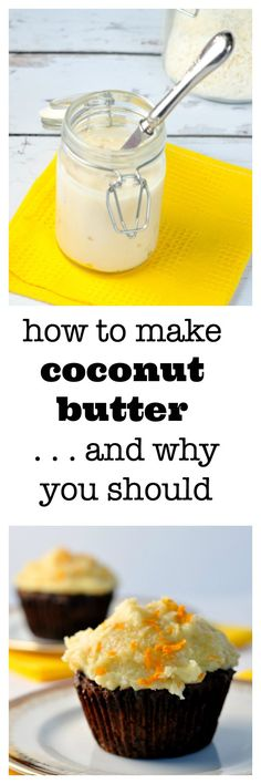 How to make coconut butter and why you should. Easy directions to make your own healthy coconut butter at home. from Flavour and Savour