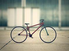 Just a bike by Andrew Bouz, via Behance
