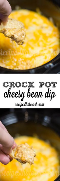 Crock Pot Cheesy Bean Dip: A party favorite every time!