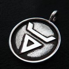 Silver Veles pendant from The Sunken City by DaWanda.com