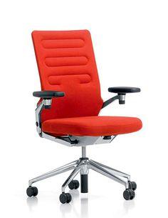 Vitra AC 4 Bürodrehstuhl im Shop bei prooffice.de #bürostuhl #büro #drehstuhl #officechair #office #red #rot #design #designstuhl #designchair