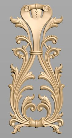 Wood Carving Designs, Wood Carving Patterns, Wood Carving Art, Wood Art, Victorian Frame Tattoos, Door Design Images, Baroque Decor, 3d Cnc, Cnc Wood