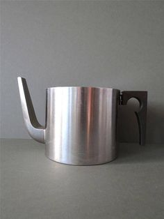 Vintage  Modernist Cylinda Stainless Steel Stelton Arne Jacobsen Coffee Teapot Tea Pot on Etsy, £145.00