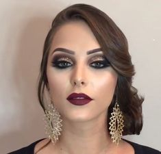 67 beautiful neutral makeup ideas for the prom party 26 67 beautiful neutral makeup ideas for the prom party 26 Glam Makeup, Full Makeup, Neutral Makeup, Love Makeup, Beauty Makeup, 1920s Makeup, Makeup Tips, Bridal Hair And Makeup, Bride Makeup