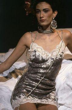 "midnight-charm:  ""Rhea Durham for Christian Dior Spring / Summer 1998  """
