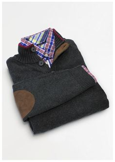 Sueter Dockers #elbow #patch #sweater #formen #menswear #mensfashion #giftguide #tiendascarrion