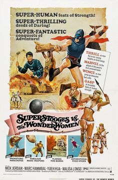 The Super Stooges vs. The Wonder Women
