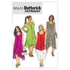 Mccall Pattern B5655 B5 (8-10-1-Butterick Pattern