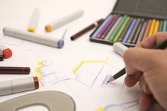 How to Become A Graphic Designer | Whether you're an independent contractor, or work for a creative agency, or nab a job at a company, it takes more than an eye for design to launch a flourishing career as a graphic designer.