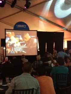 Late night boxing  entertainment brought by Liberty Puerto Rico.