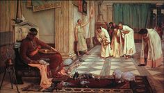 John William Waterhouse, The favourites of Emperor Honorius, 1883