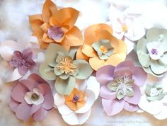 Large Paper Flowers Wedding Backdrop Arch or Wall Decor Set of 10 by AnnKayDesign Paper Flower Backdrop Wedding, Paper Backdrop, Wedding Backdrops, Wedding Paper, Diy Paper, Paper Crafting, Wedding Stuff, Our Wedding, Wedding Wall Decorations