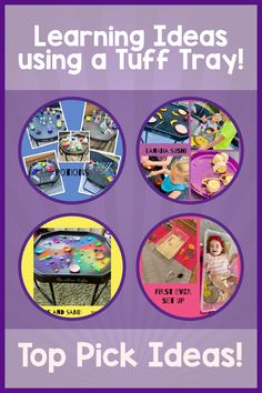 Learning Through Play ideas using a Tuff Tray resource. Our Top Pick ideas include a range of activities which benefit and achieve learning. Simple and easy to set up ideas to provide hours of fun.   #tufftray #learningthroughplay #tufftrayideas #guestblog Banana Sushi, Tuff Tray, Learning Through Play, Play Ideas, Benefit, Range, Activities, Simple, Easy