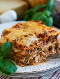 Classic Lasagna!! Absolutely Delicious ~ Everyone Should Have This Recipe in Their Collection!!