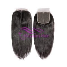 VG Luxury High Quality Malaysian No Tangle No Shed French Lace 4x4 Closure