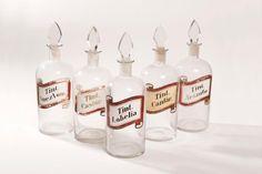 Frascos decorativos de tinturas Wine, Bottle, Jars, Flask