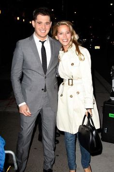Michale Buble' (and his wife, Luisana Lopilato).